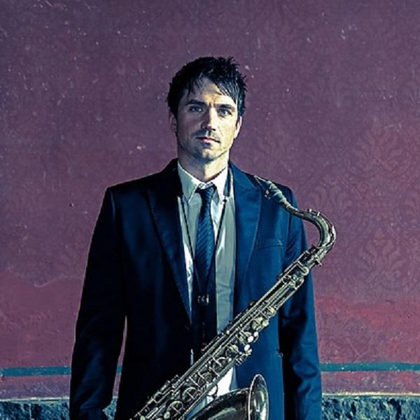 Saxophonist Hannover Christopher Spintge